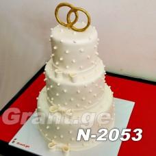 საქორწილო ტორტი 2053