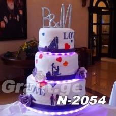 საქორწილო ტორტი 2054