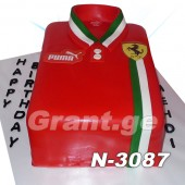 ტორტი Ferrari 3087