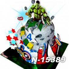 ტორტი სუპერ გმირები 15389