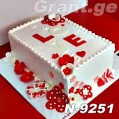 ტორტი LOVE 9251