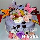 ტორტი ყვავილებით 9256