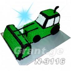 ტორტი ტრაქტორი 3116