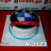 ტორტი BMW 3123