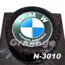 ტორტი BMW M5 3010