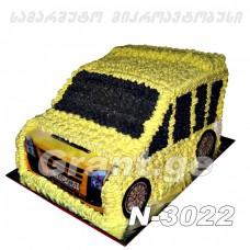 ტორტი მიკროავტობუსი 3022