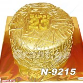 ტორტი ოქროს 9215