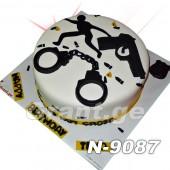 ტორტი POLICE 9087