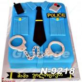 ტორტი პოლიცია 9218
