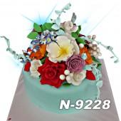 ტორტი ყვავილებით 9228