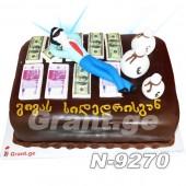 ტორტი ფული 9270