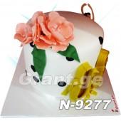 ტორტი ყვავილები 9277