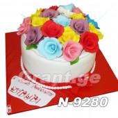 ტორტი ყვავილები 9280