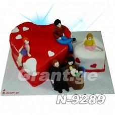 ტორტი LOVE 9289