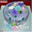 ტორტი ყვავილებით 9388