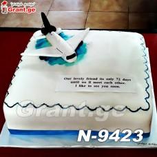 ტორტი თვითმფრინავი 9423