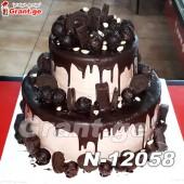 შოკოლადის ტორტი 12058