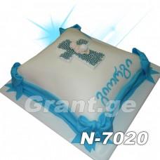 ნათლობის ტორტი 7020