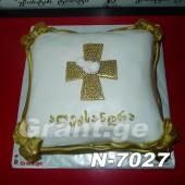 ნათლობის ტორტი 7027