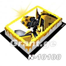 ტრანსფორმერი ფოტო ტორტი 10100