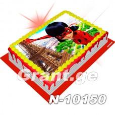 ლედი ბაგი და სუპერ კატა ფოტო ტორტი 10150