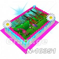 ჩუჩუ TV ფოტო ტორტი 10351