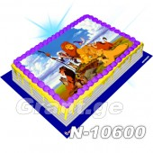 მეფე ლომი ფოტო ტორტი 10600