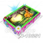 ბემბი ფოტო ტორტი 10651