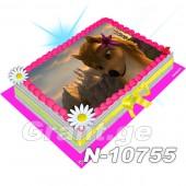 ალფა და ომეგა ფოტო ტორტი 10755