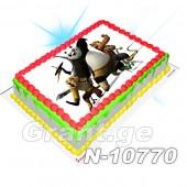 კუნგ-ფუ პანდა ფოტო ტორტი 10770
