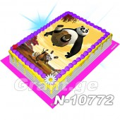 კუნგ-ფუ პანდა ფოტო ტორტი 10772
