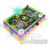 მონსტრების კორპორაცია ფოტო ტორტი 10806