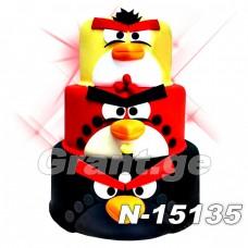 ტორტი ANGRY BIRDS 15135