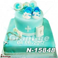 ნათლობის ტორტი 15848