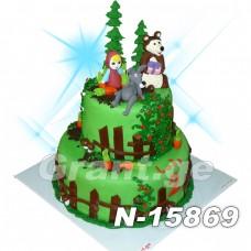 ტორტი მაშა და დათვი 15869