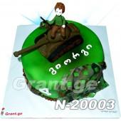 ტორტი ტანკისტი 20003