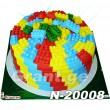 ტორტი ლეგო 20008