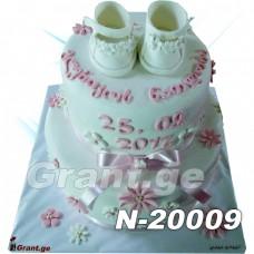 ნათლობის ტორტი 20009