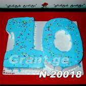 """ტორტი """"10"""" 20018"""