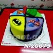 ტორტი სუპერ გმირები 20075