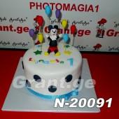 ტორტი მიკი მაუსი 20091