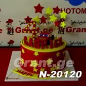 ტორტი MCQUEEN 20120