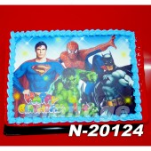 ტორტი სუპერ გმირები 20124