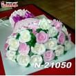 ტორტი ყვავილების თაიგული 21050