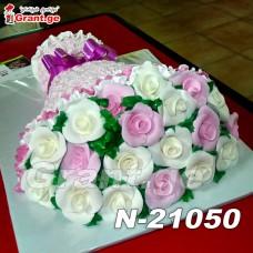 ტორტი ყვავილები თაიგული 21050