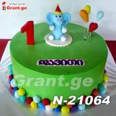 ტორტი სპილო 21064