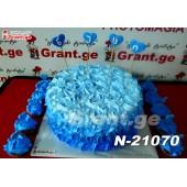 ტორტი ყვავილების თაიგული 21070
