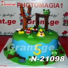 ტორტი ANGRY BIRDS 21098