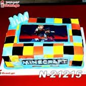 ტორტი მაინკრაფტი Minecraft 21215