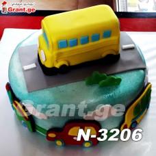 ტორტი ავტობუსი 3206